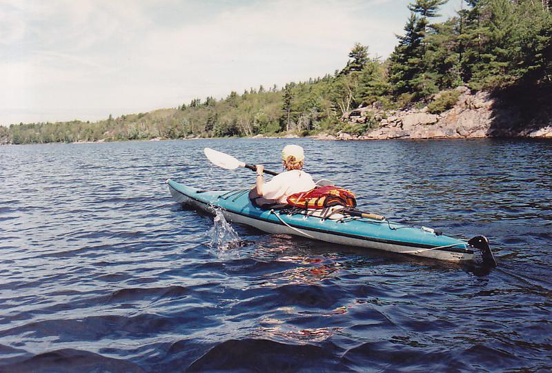 kayaking in Georgian Bay