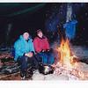 Trish & Scott keeping warm