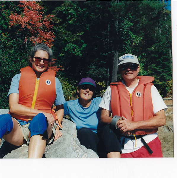 Sheila, Therese and Bill