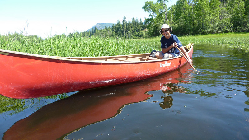 Malcome is an excellent canoeist