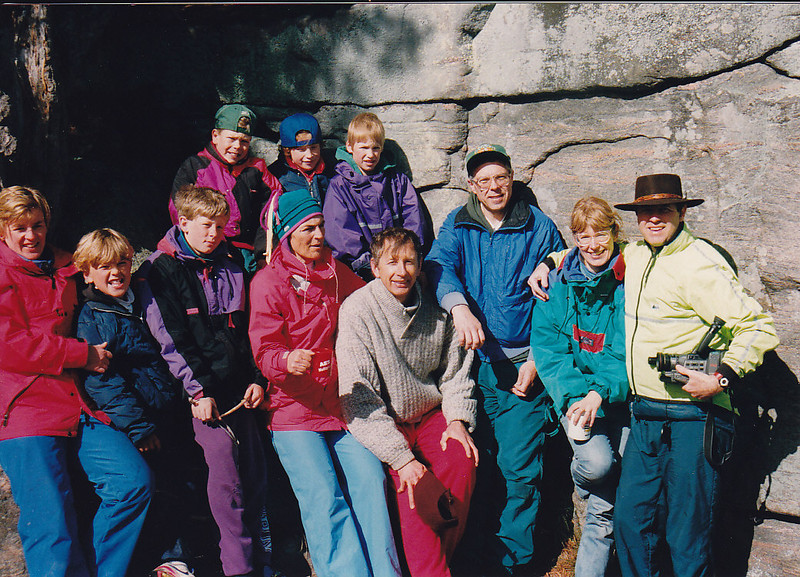 Meg & Kirby, Bruce & Will, Marcy & Ian, John & ?
