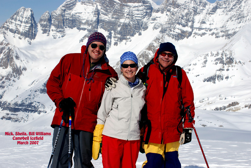 The Williams at Campbell Icefield