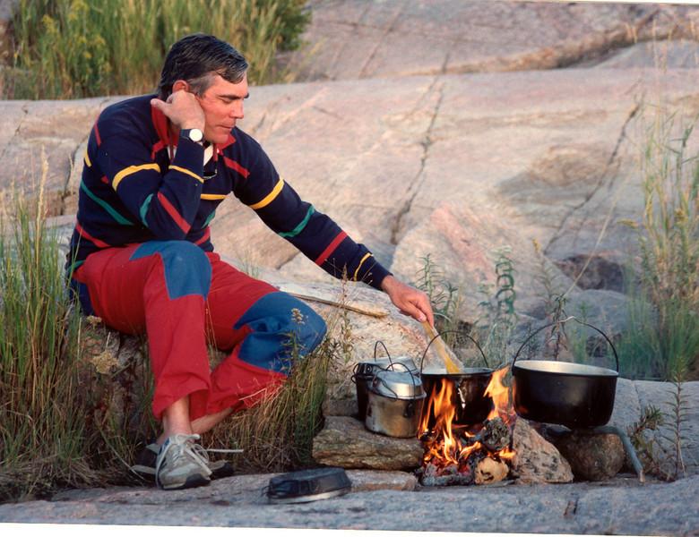 camping on Georgian Bay