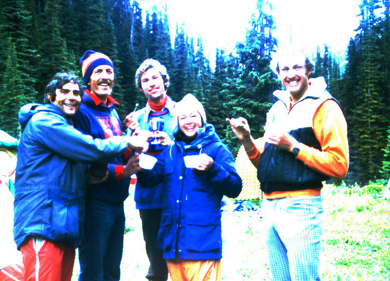 The Annual hike in the Rockies organized by Uncle Al