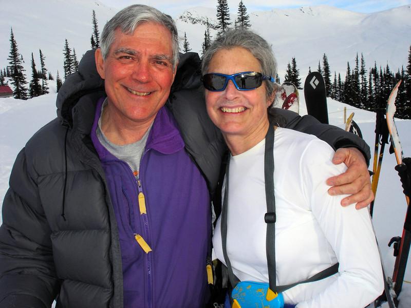 Campbell Icefield apres ski