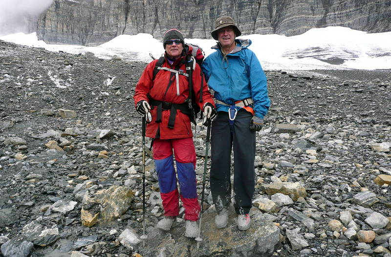 summer hiking at Campbell Icefield