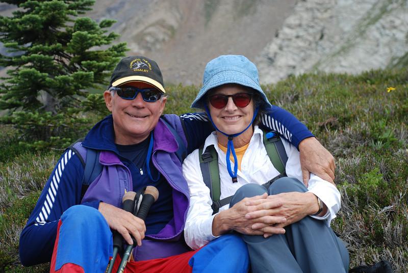 hiking in Mt. Assiniboine