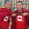 Tibetan monks love Canada