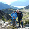 B & T enjoying the hike and good guiding by Lili