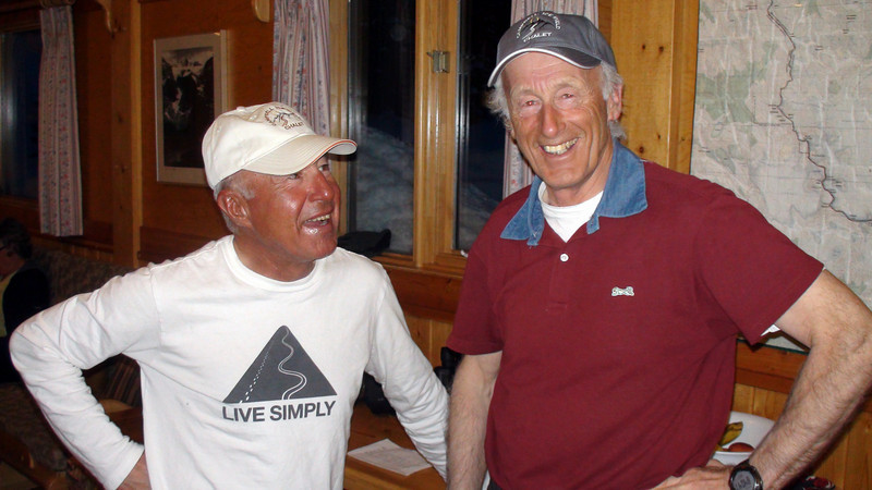 Luca Gasparini and Bernie Schiesser