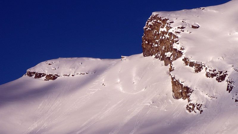 Descent from the high col