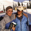 Marg Gmoser and Lilly Lambert at Campbell Icefield