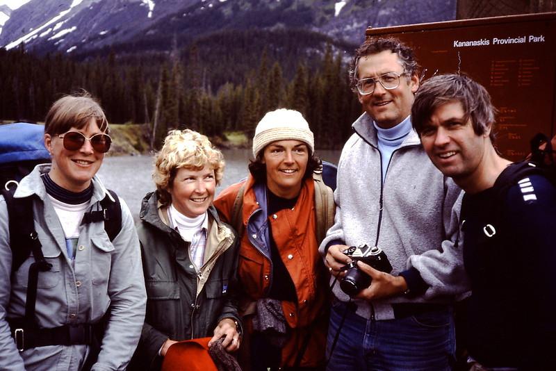 Marg Gmoser, Anne Meisner, Therese Roberts, Kent Meisner, Bruce Roberts