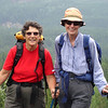 Therese & Sue Davies, a pre trip day hike