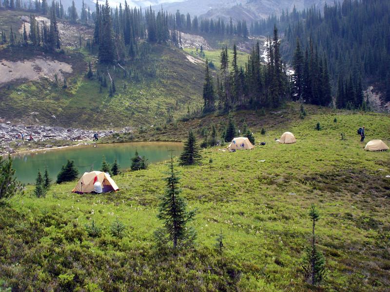 Beautiful camp site