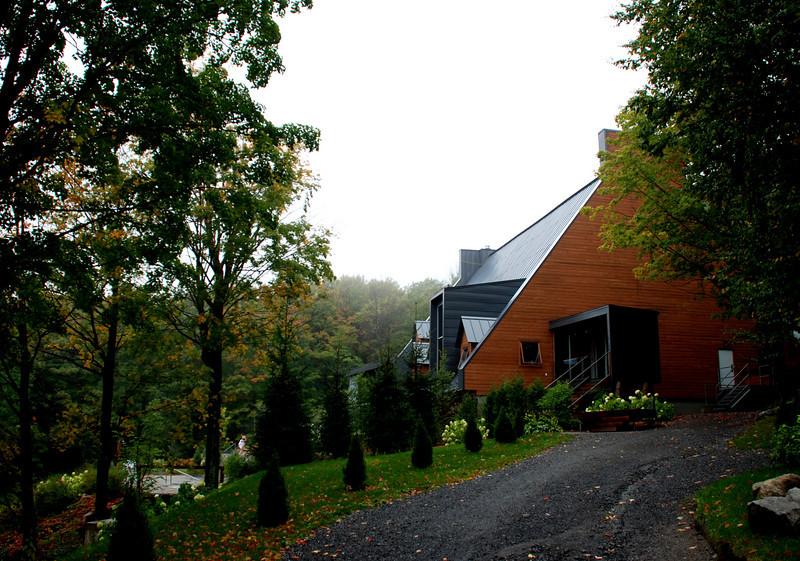 Balnea Spa in Bromont Quebec
