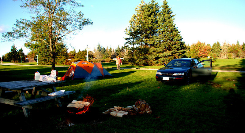 Camping along the East Coast