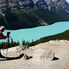 Peyto Lake on Jasper Hwy