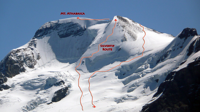 Mount Athabasca Climbing Route