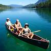 Premier Lake Canoeing