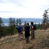 Lookout after a 1/2 hour of hiking