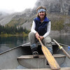 Paddling on Tarmigan Lake