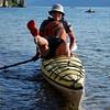 kayaking Adams Lake
