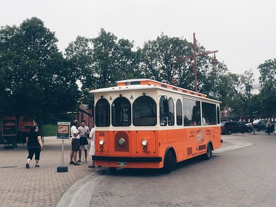 Trolley at The Forks