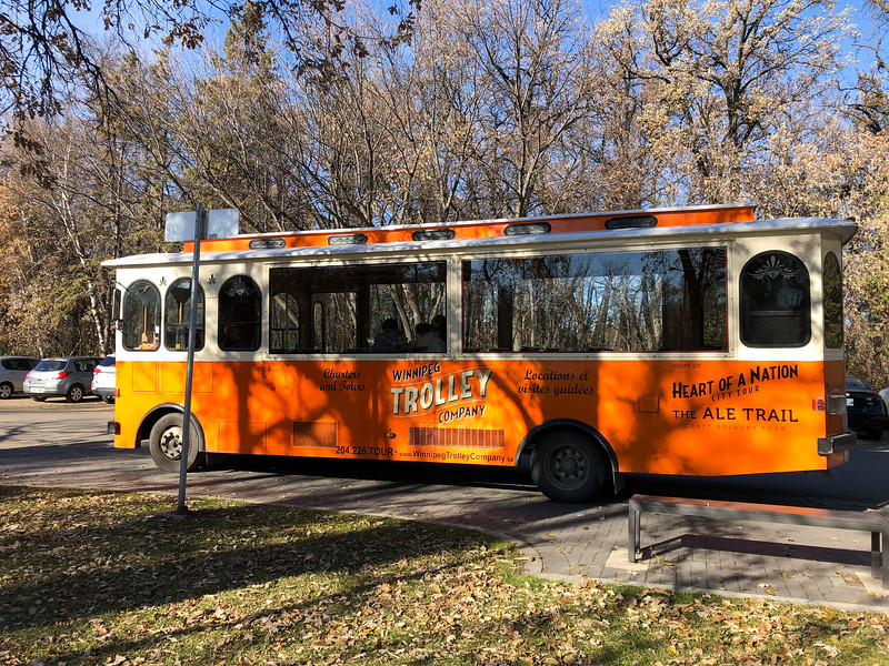 Winnipeg Trolley tour