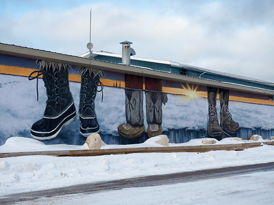 SeaWalls mural in Churchill