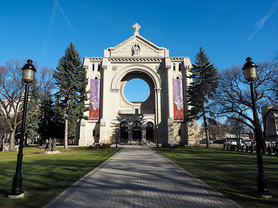 Saint Boniface Cathedral in Winnipeg
