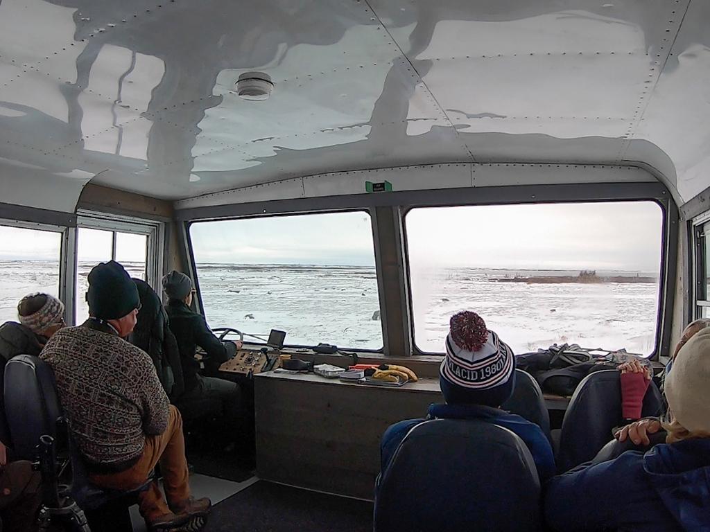 Inside a Tundra Buggy