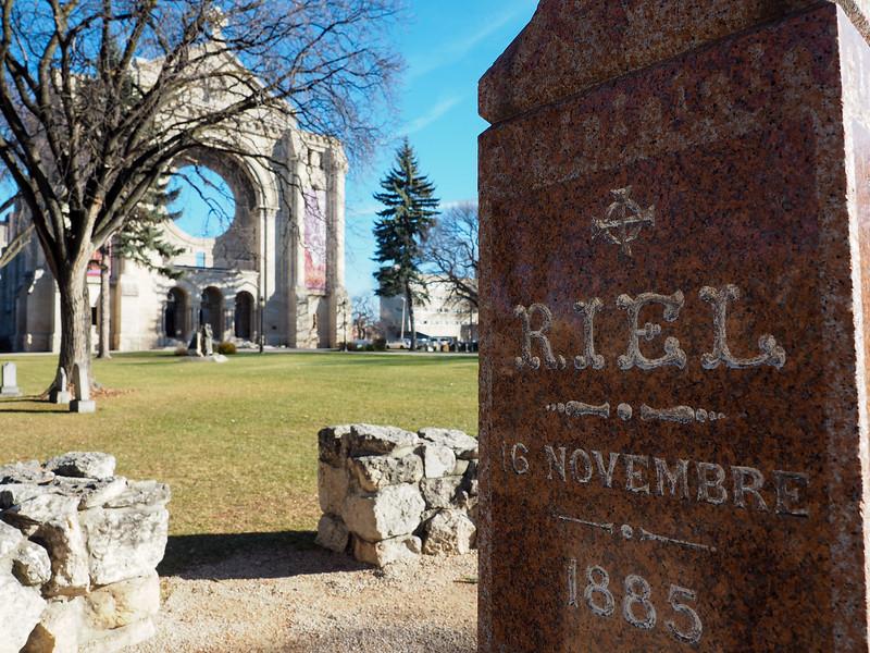 Grave of Louis Riel