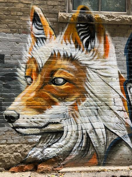 Street art in Winnipeg's Exchange District