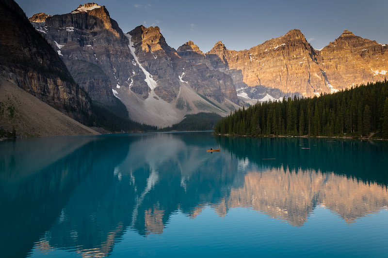Moraine Lake at Sunrise