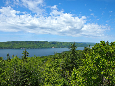 The Cabot Trail on Cape Breton Island