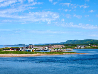 Margaree Harbour on Cape Breton Island