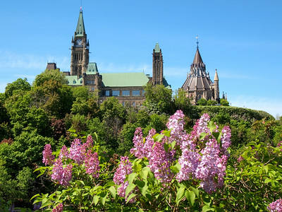 Parliament Hill in Ottawa
