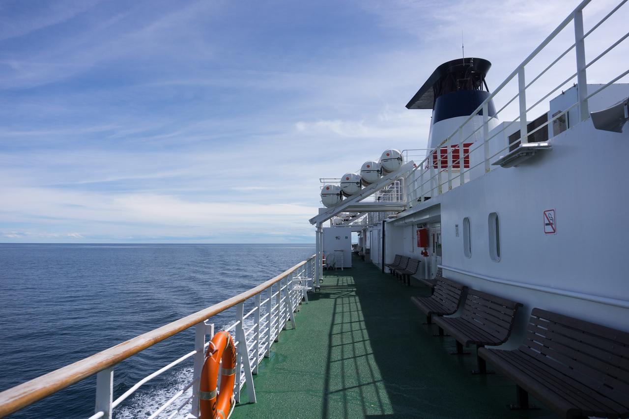 CTMA Ferry from Souris, PEI to Îles de la Madeleine ©Pamela MacNaughtan