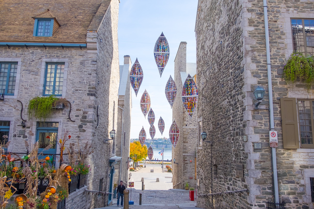 Art installation in Place Royale (2016)
