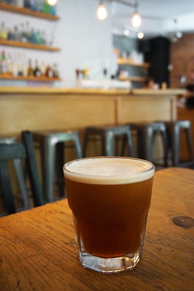 Cold Brew at Mælstrøm Café