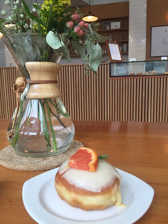 Rosemary Grapefruit donut at Saint-Henri micro-torréfacteur