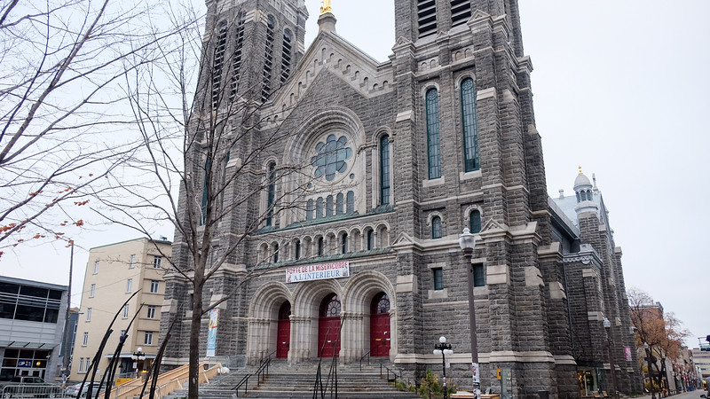 I'm staying in Old Québec, for now, but I also spend a lot of time in the neighbourhood of Saint-Roch.