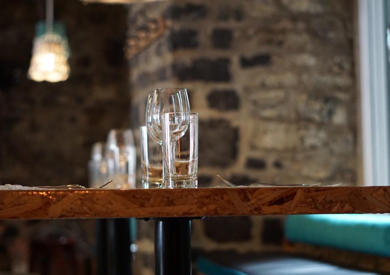 Batinse restaurant in Vieux Québec