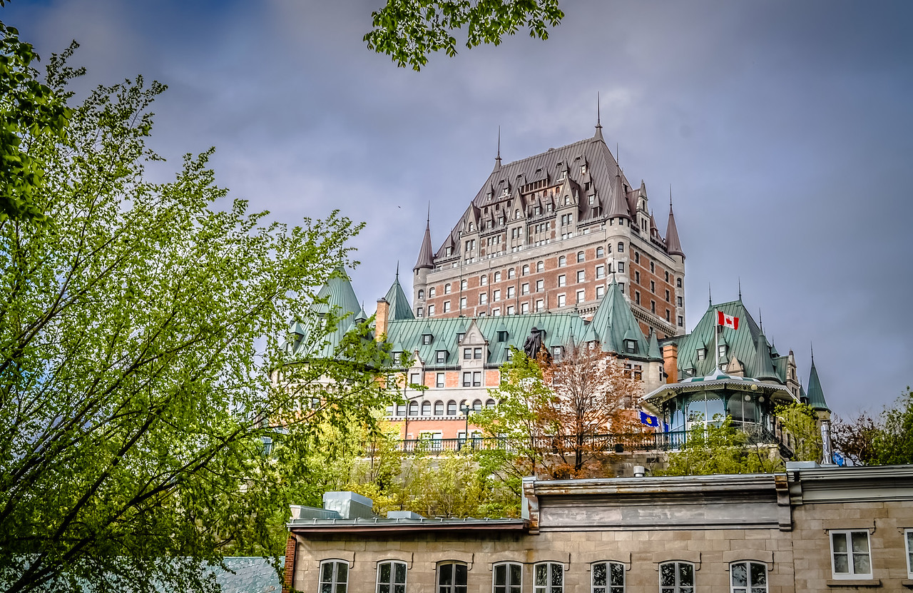Château Frontenac from Parc Montmorency