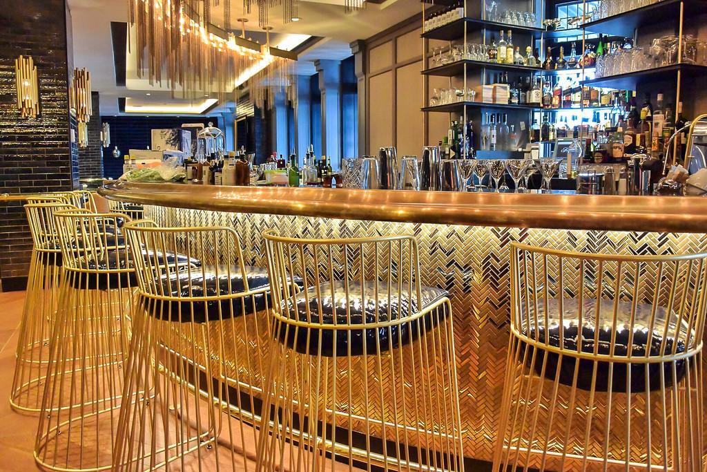 Bar at Bistro Le Sam