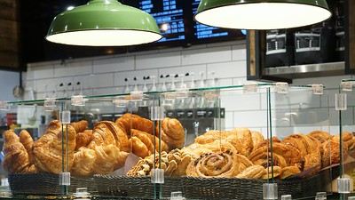 Croissants at La Maison Smith café
