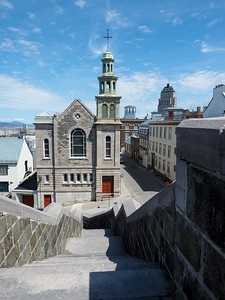 View from the Quebec City walls