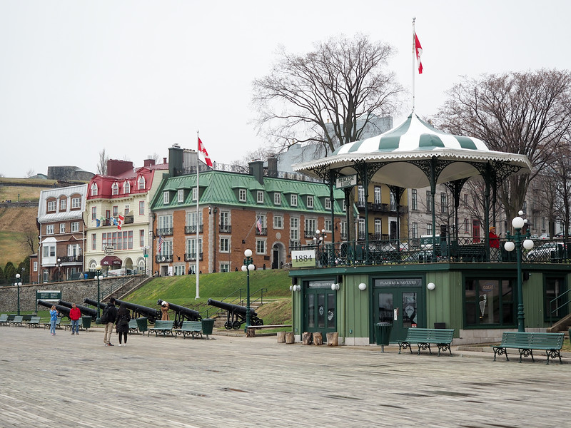 Dufferin Terrace in Quebec City