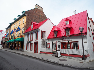 Street in Quebec City, Canada